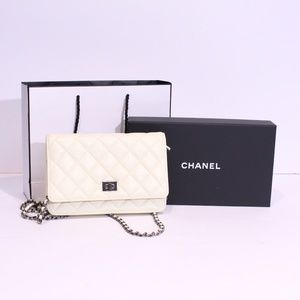 CHANEL Quilted Leather Reissuse Small Flap Bag
